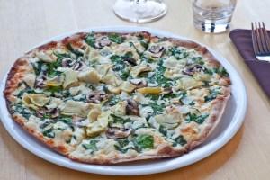 The Loaf Fernie - Artichoke Pizza