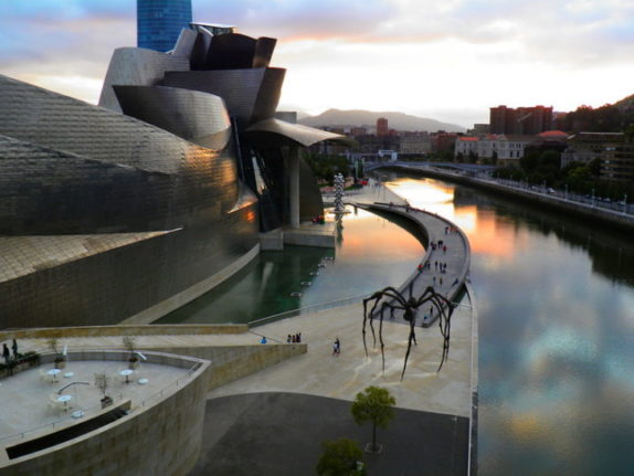 El Guggenheim de Bilbao, País Vasco, España