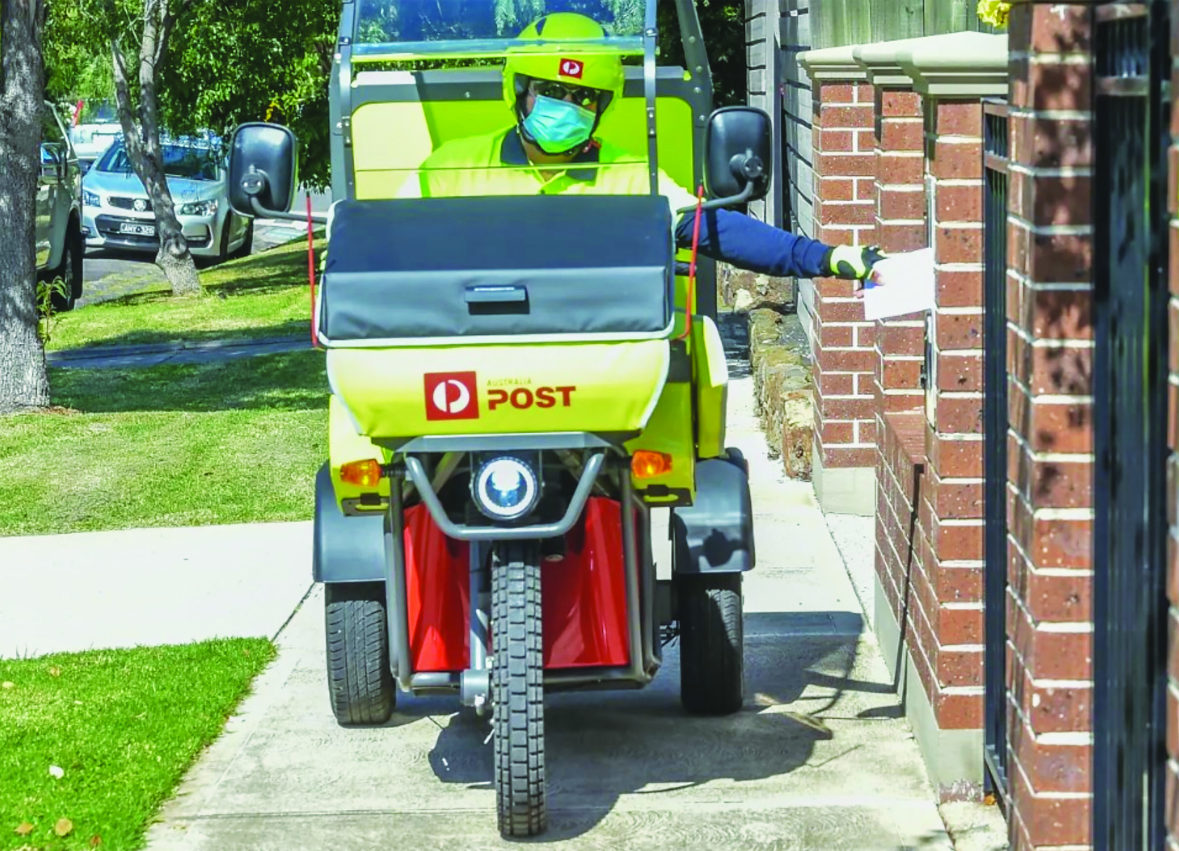 Postie deliveries halved - The Local