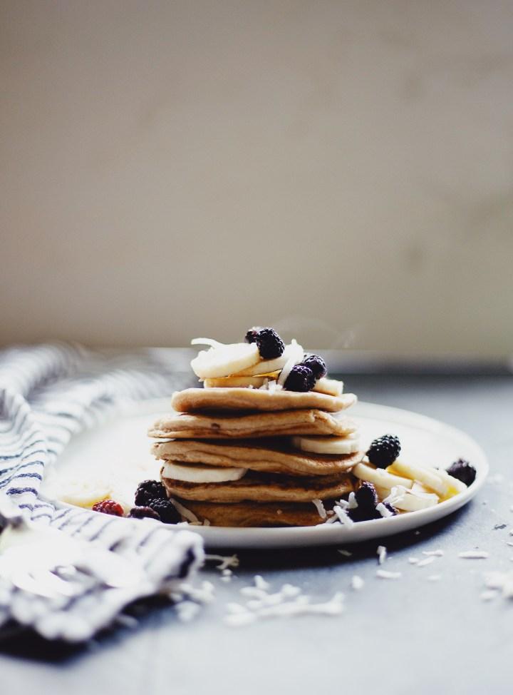 Healthy gluten free pancake recipe