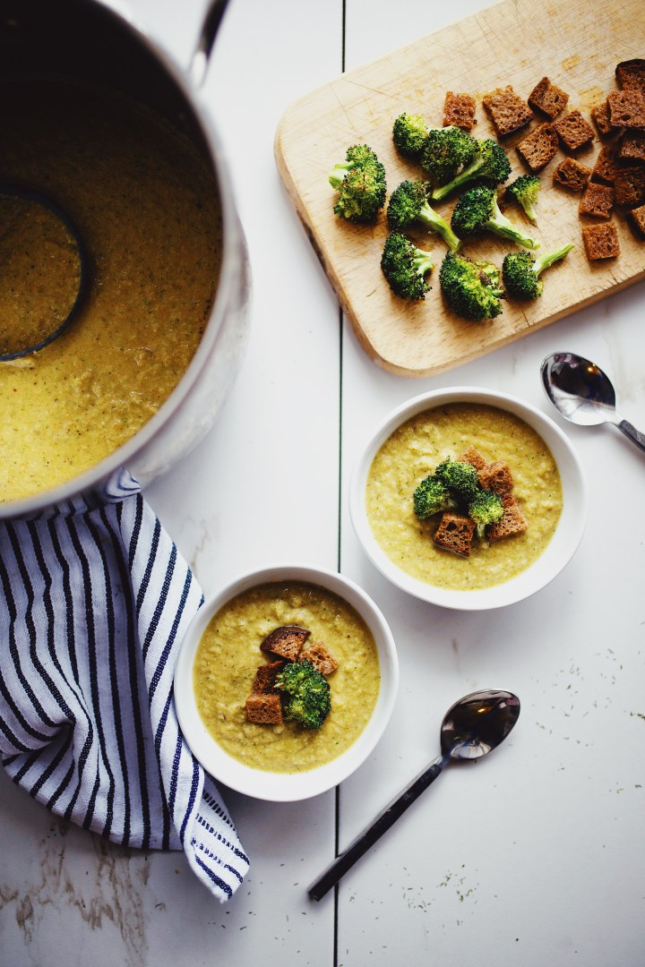 gluten free broccoli and cheddar soup recipe