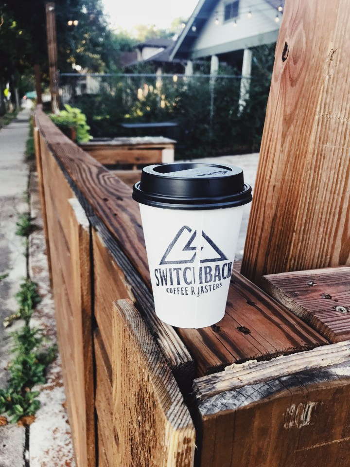 Switchback Coffee Almond Milk Latte