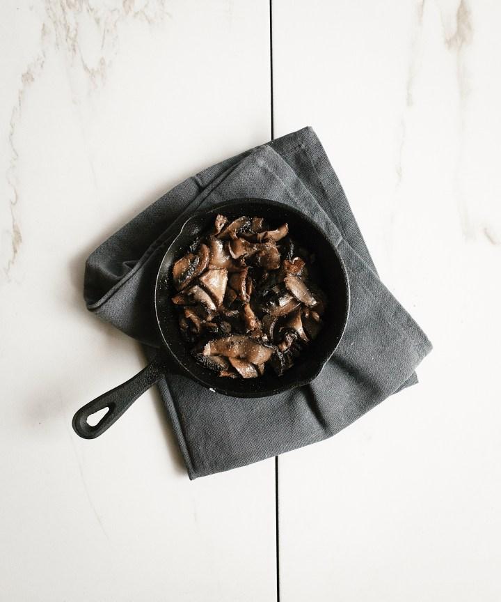 Vegan mushroom bowl