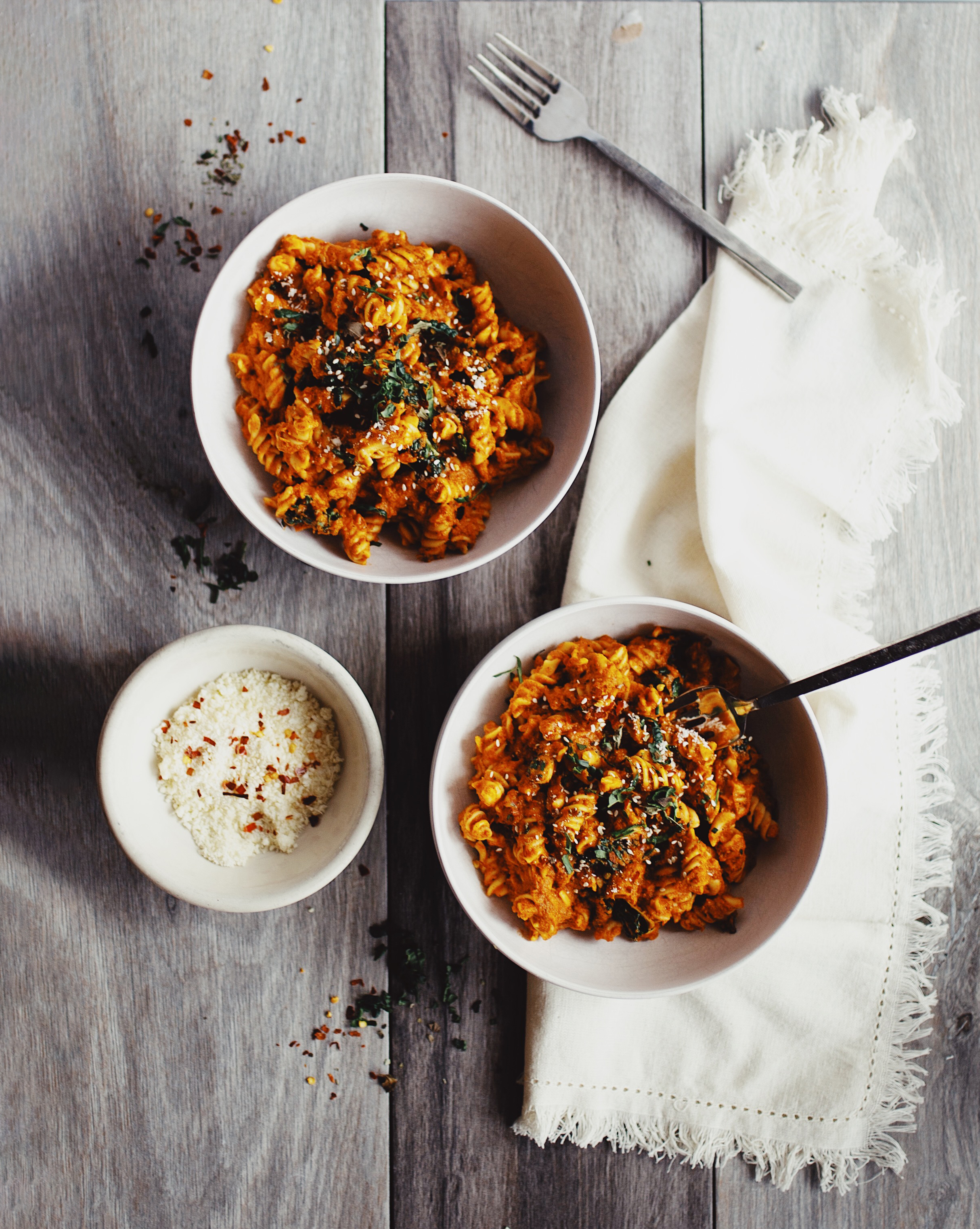 Smoky Sun Dried Tomato Pasta