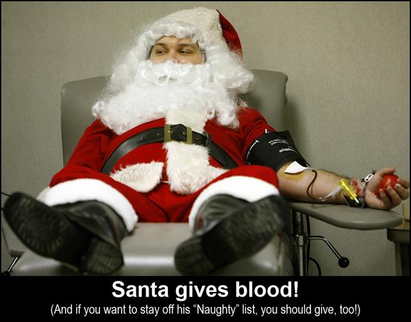 Santa Gives