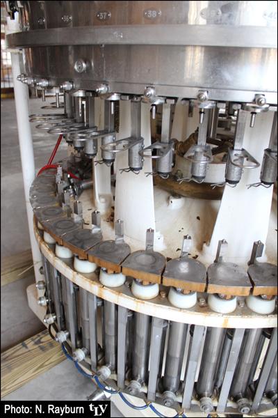 YaloBrew's old bottling machine