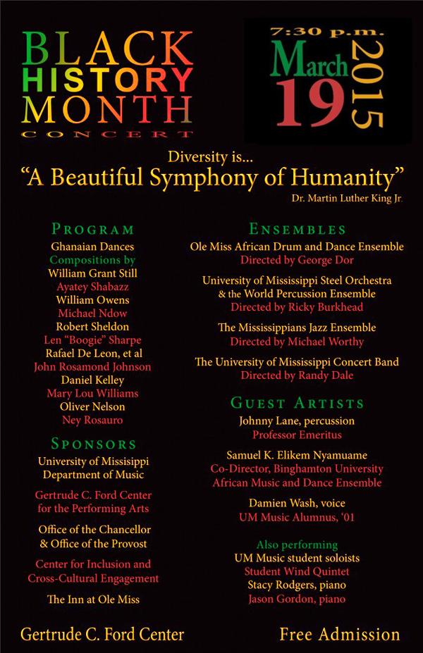 Black History Month Concert 2-2