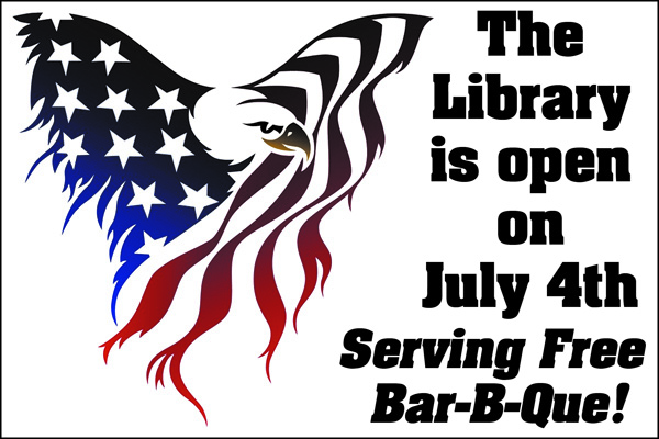 LIbrary4thJuly