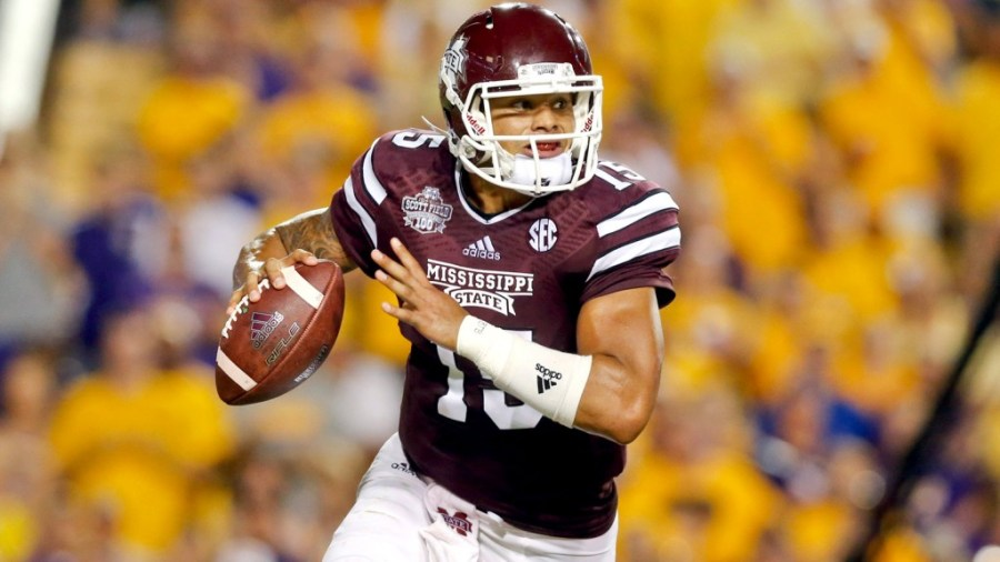 Mississippi State Quarterback Dak Prescott has already commandeered the Bulldog record book and hopes to solidify his legacy as the greatest player in Bulldog history by returning the Golden Egg back to Starkville.