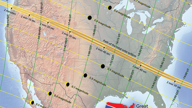 Guide to Viewing the Solar Eclipse on August 21