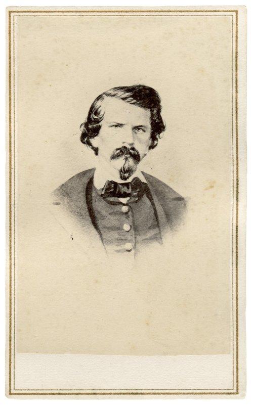 Confederate General Earl Van Dorn.