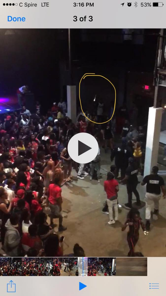 Video and Photographs Emerge of the Brawl and Shooting Inside The Lyric Theater in Oxford, Mississippi, Friday, April 27, 2018, During Double Decker Festival