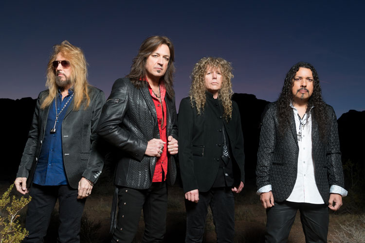 The Yellow & Black Attack Redux: Metal Band Stryper Will Play The Soundstage at Graceland June 2