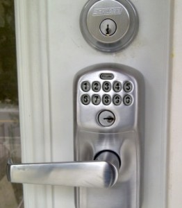Schlage door hardware