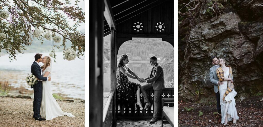 Small weddings and elopements in Loch Goil