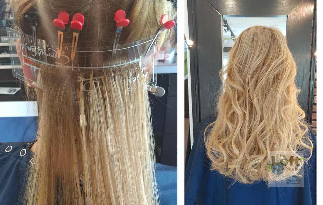 Seamless Blending Hair Extensions L Hair Color Near Me L