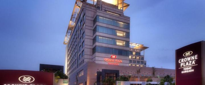 Business Trip – Crowne Plaza Gurgaon Review