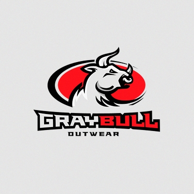 Gray Bull Logo Design Gallery Inspiration LogoMix