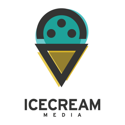 IceCream Media Logo Design Gallery Inspiration LogoMix