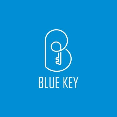 Blue Key Logo Design Gallery Inspiration Logomix