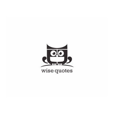Wise Quotes Logo Design Gallery Inspiration LogoMix