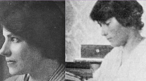 The women who pretended to be Grand Duchess Anastasia Nikolaevna of Russia get their own section in this book. One of them pictured here is an imposter, but which? (scroll down for answer and credits)