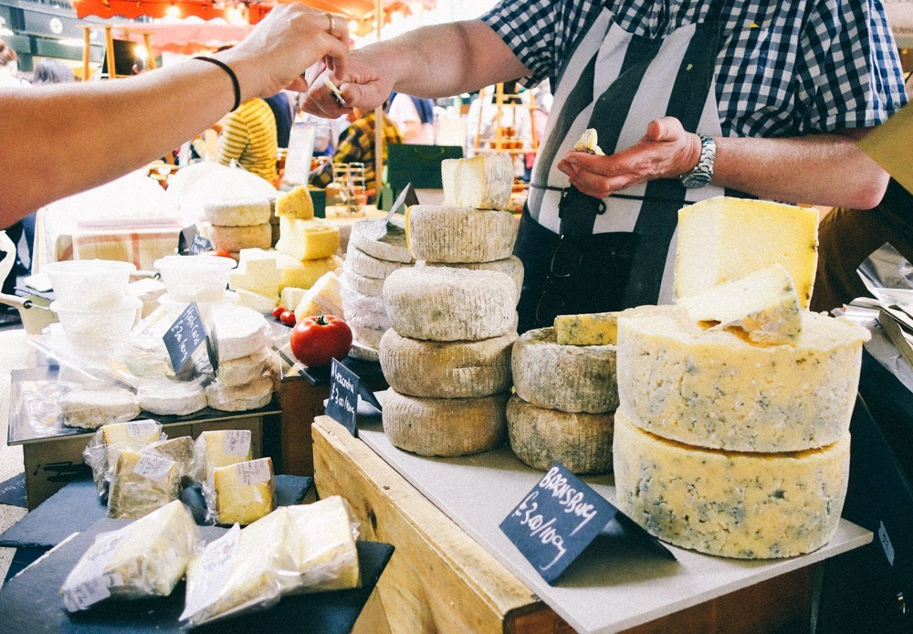 Image result for borough market cheese