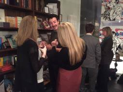 Guests enjoying the The London Magazines December/January 17 issue