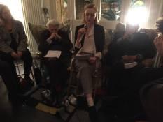 Grey Gowrie, Poet Phoebe L. Corbett and Stanley Moss