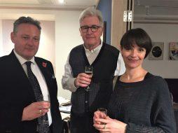 Steven O'Brien + Les Robinson and Sarah Westcott