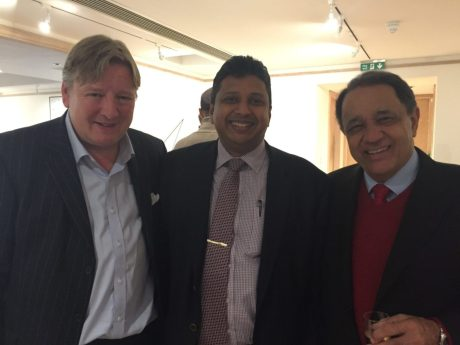 Jack Soames, Sugeeshwara Gunaratna + Dr Al Chalabi