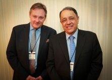Editor Steven O'Brien and Publisher Burhan Al Chalabi