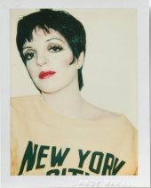 Andy Warhol, Liza Minelli, 1977, Polacolor Type 108, 10.8 x 8.5cm, © 2018 The Andy Warhol Foundation for the Visual Arts, Inc. Licensed by DACS, London. Courtesy BASTIAN, London