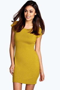 Clare Cap Sleeve Bodycon Dress. WAS £8 NOW £6