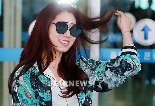 Park Shin Hye Is Currently In Manila