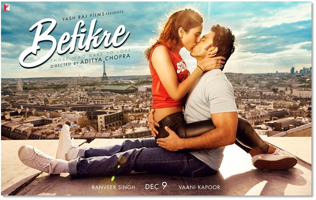 BEFIKRE Trailer Review - It Is A Usual Bollywood Rom Com
