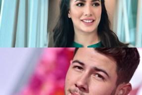 Mehwish Hayat meets Nick Jonas