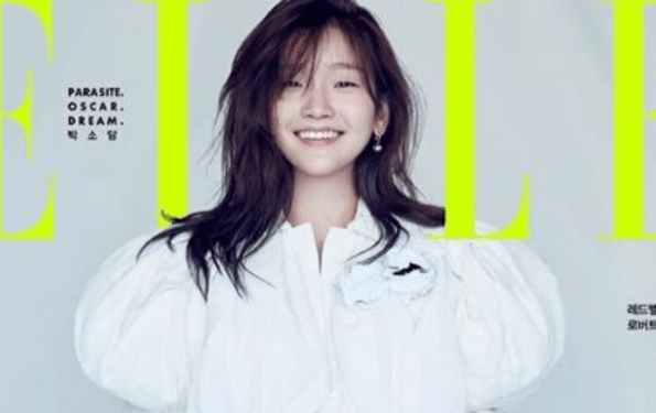 Parasite Star Park So-Dam Poses For Louis Vuitton In Elle Korea