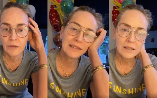 Sharon Stone Thanks The Healthcare Heroes On National Doctors Day