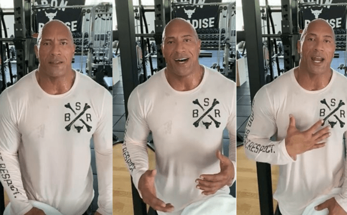 'Why I don't shoot my Workouts' The Rock Answers