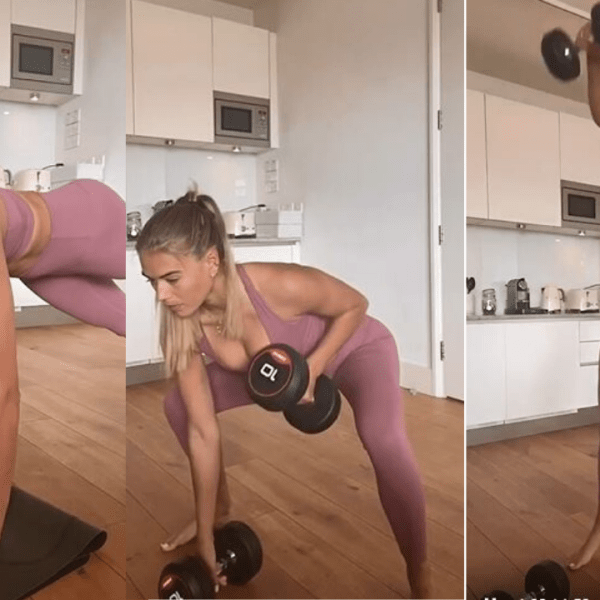 Arabella Chi's Full Body Burner Home Workout For Women & Men