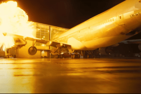 TENET: Christopher Nolan Blows A Real Boeing 747 Instead Of Using VFX