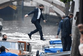 Tom Cruise Seen Jumping Over Boats In Venice, Does His Own Stunts For Mission Impossible 7
