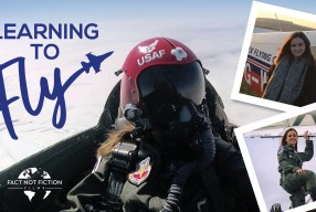 'Learning To Fly' Beth Moran's Journey Into The Skies