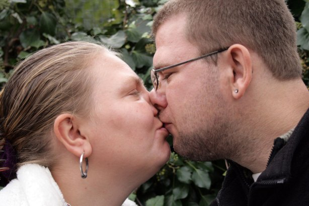 Event-photography-two-people-with-Learning-disbility-kiss