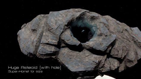 Huge Asteroid