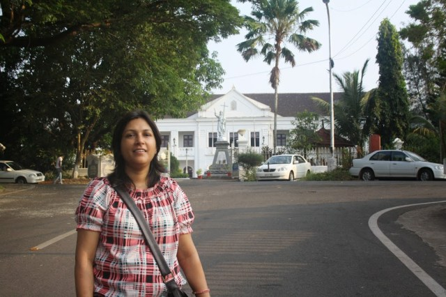 Residence of Arch bishop Goa Holiday trip