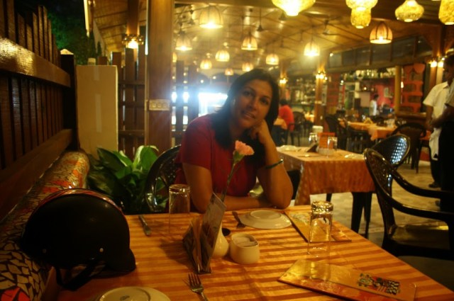 Martin corner restaurant at south Goa during Holiday trip