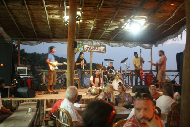Cafe looda at Goa Holiday trip