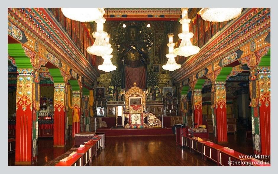 Chokling monastry Bir Billing India
